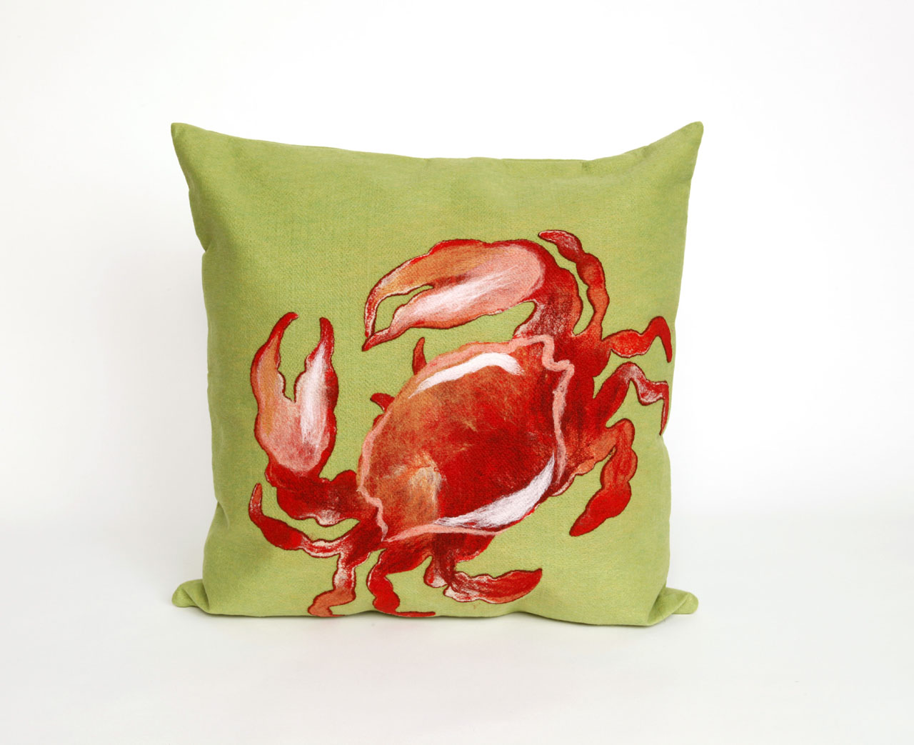 Lamontage crab red pillow - vision 2