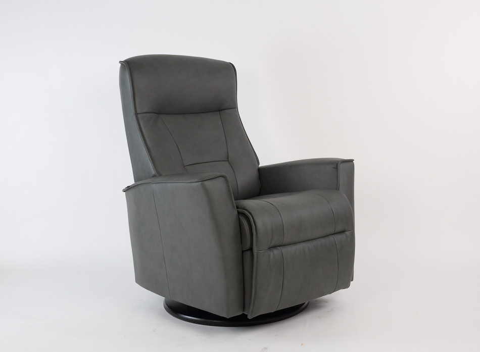 Fjords harstad power swing relaxer / recliner small sl 227 grey