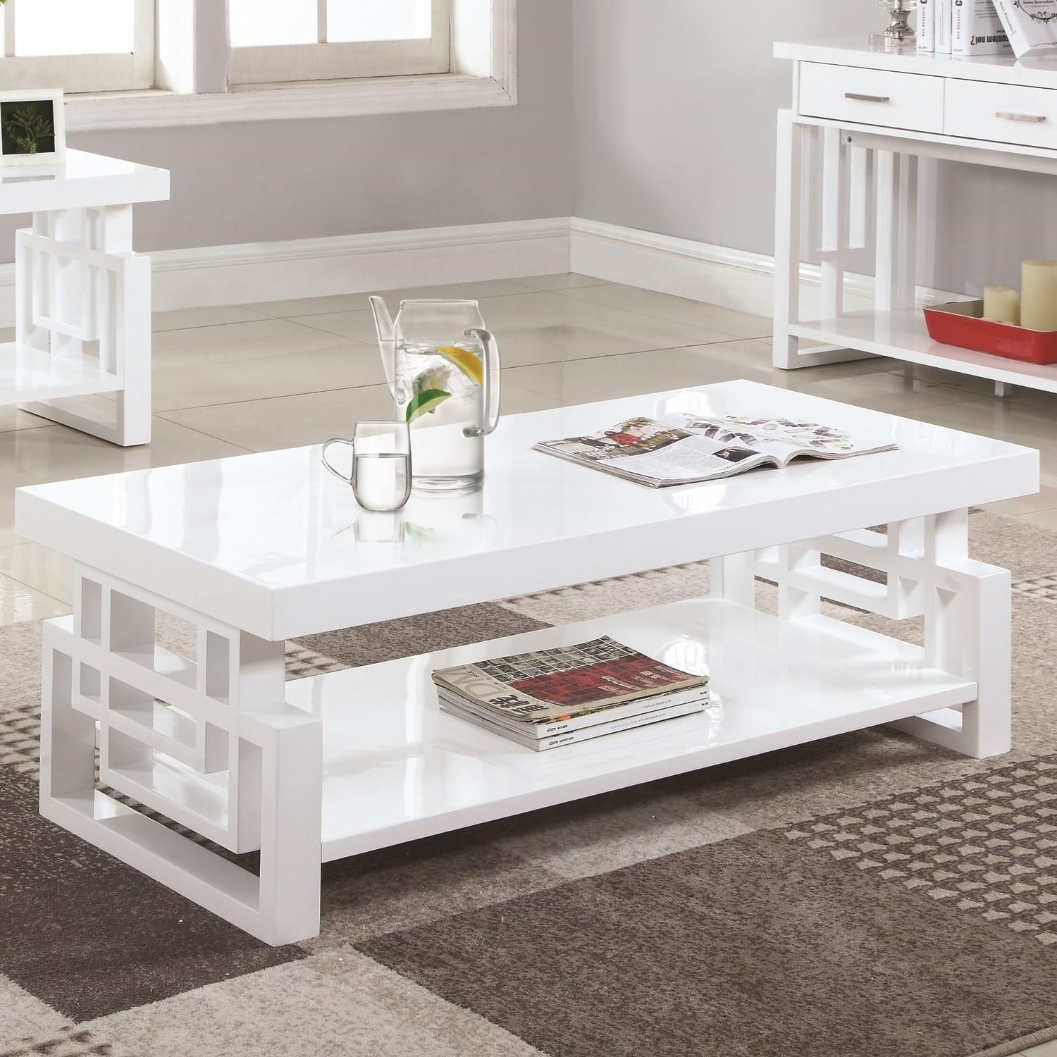 705708 rectangular contemporary coffee table