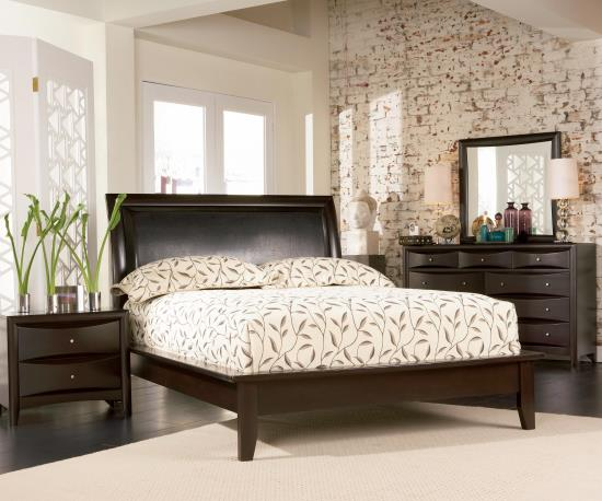 4 pcs phoenix queen platform bed