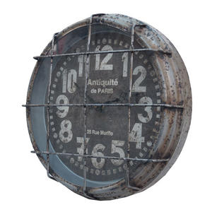 Mtl. industrial clock