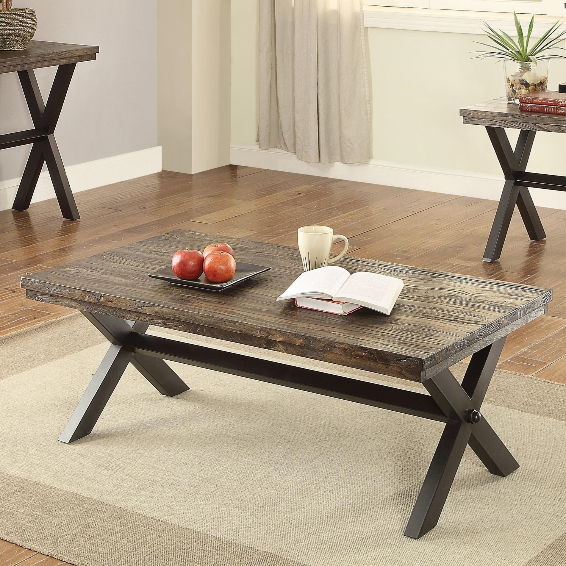 705278 romilly rustic coffee table