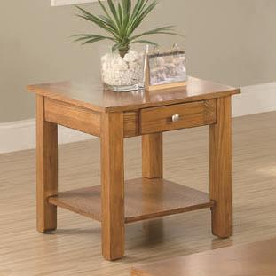 701437 occasional group end table with drawer and base shelf