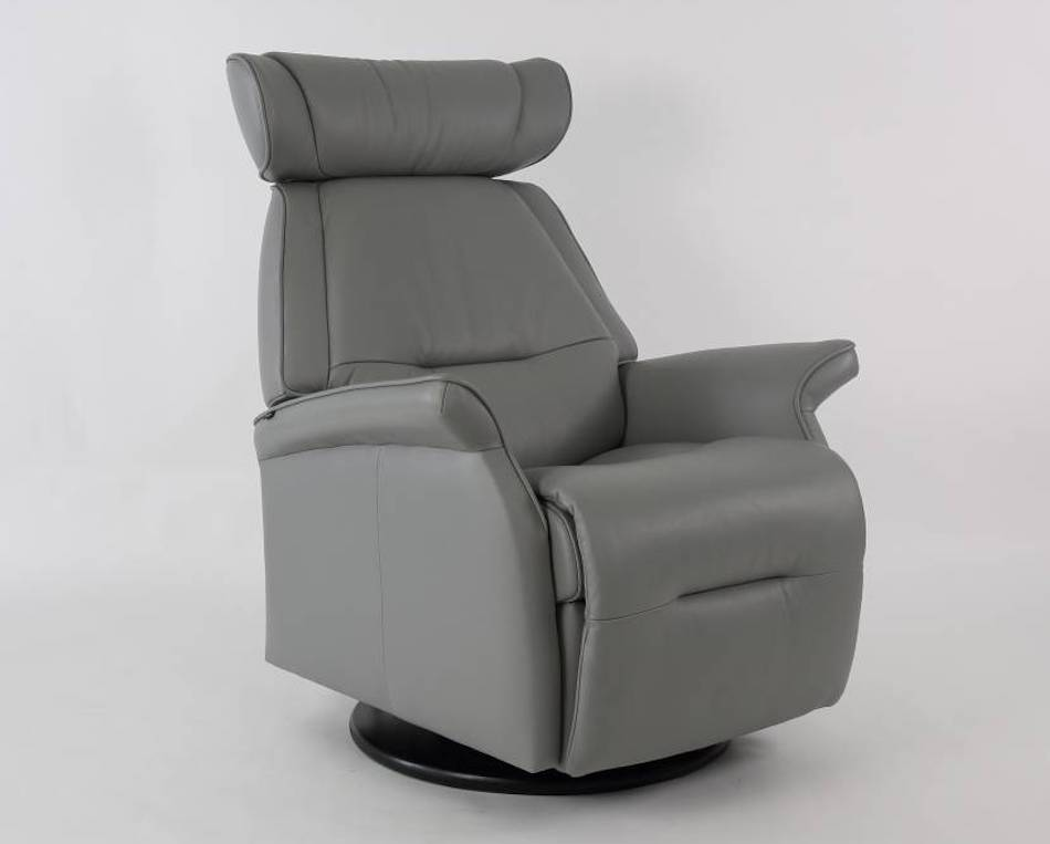 Fjords miami swing relaxer / recliner power al 578 cement large