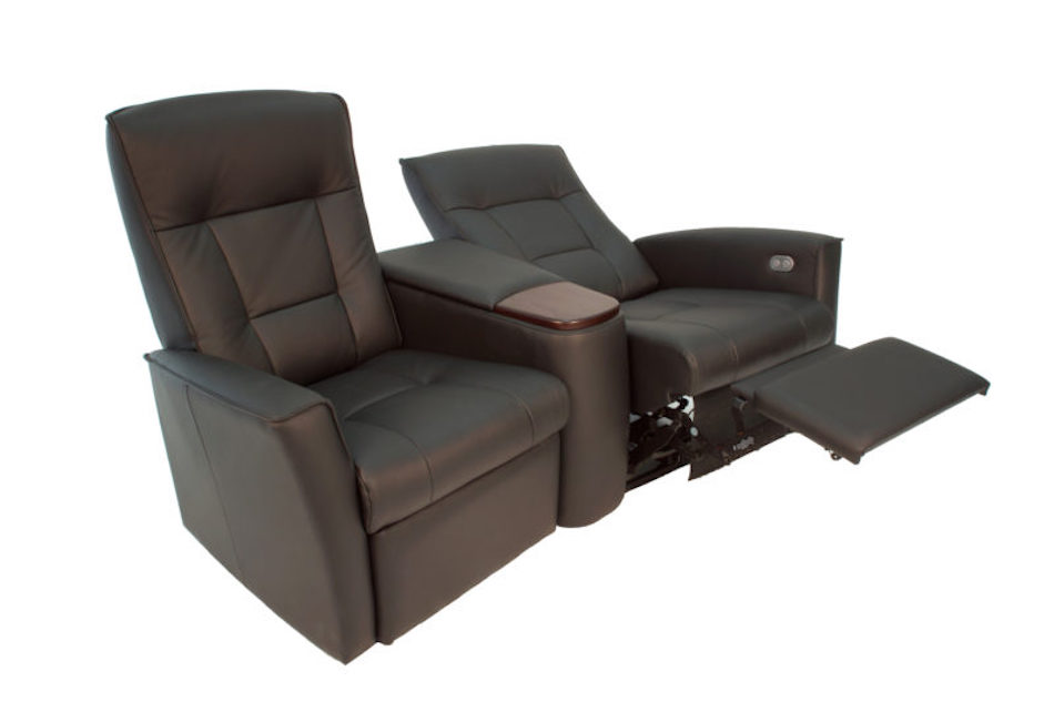 Fjords ulstein ws cinema a recliner sofa nl 120 havana