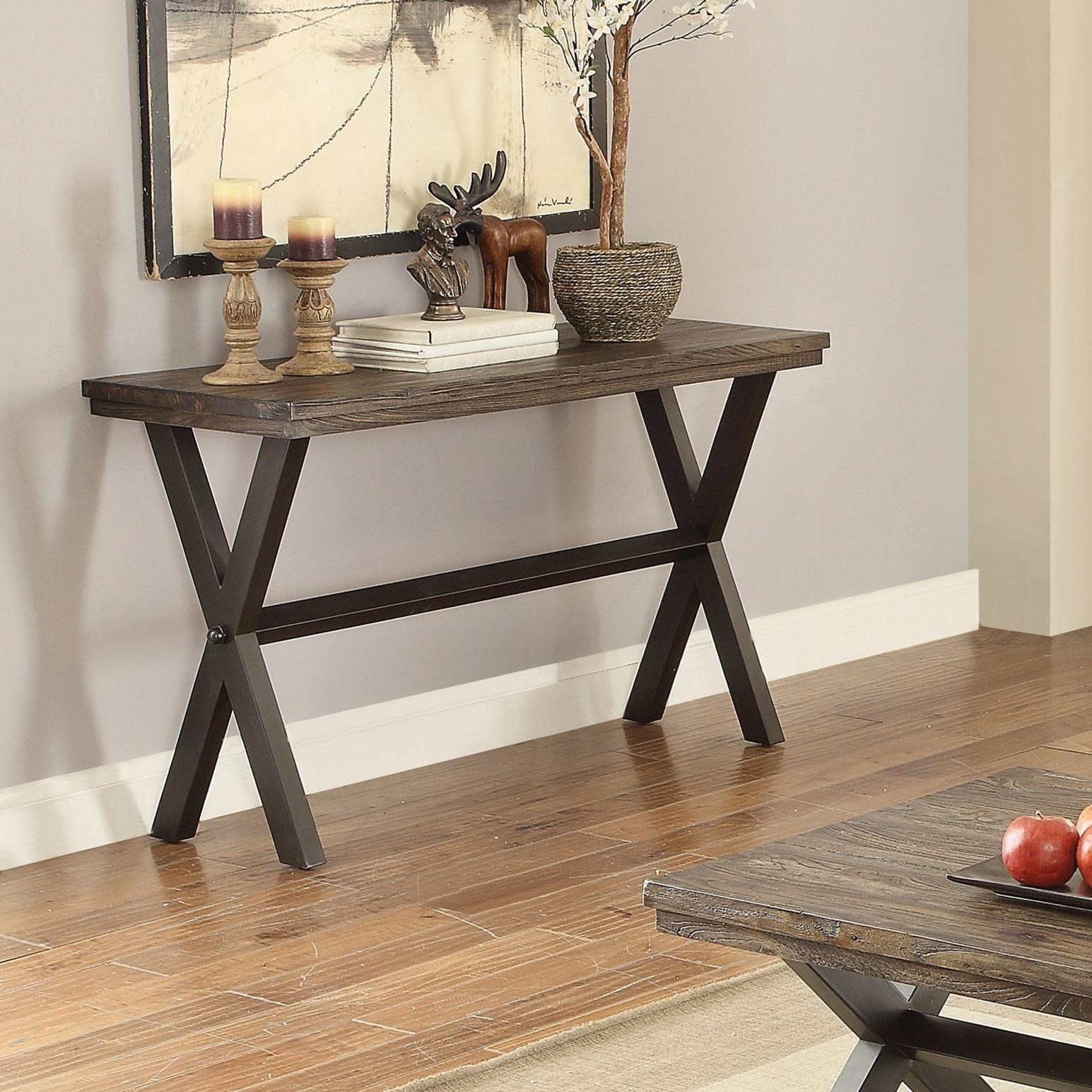705279 romilly rustic sofa table