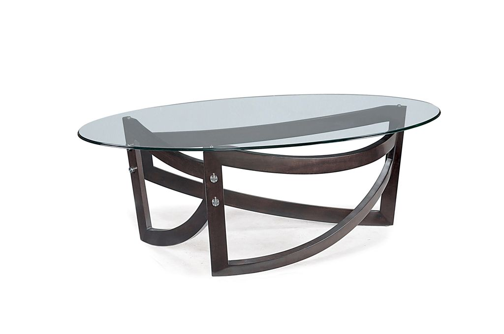 Lysa oval cocktail table