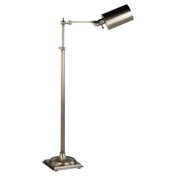 Winston adjustable swing arm pharmacy floor lamp by robert abbey