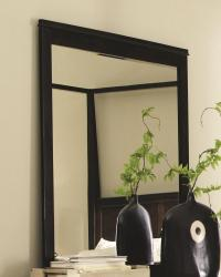 Ingram dresser mirror with bead moulding on frame