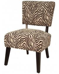 Mason fabric tiger accent chair