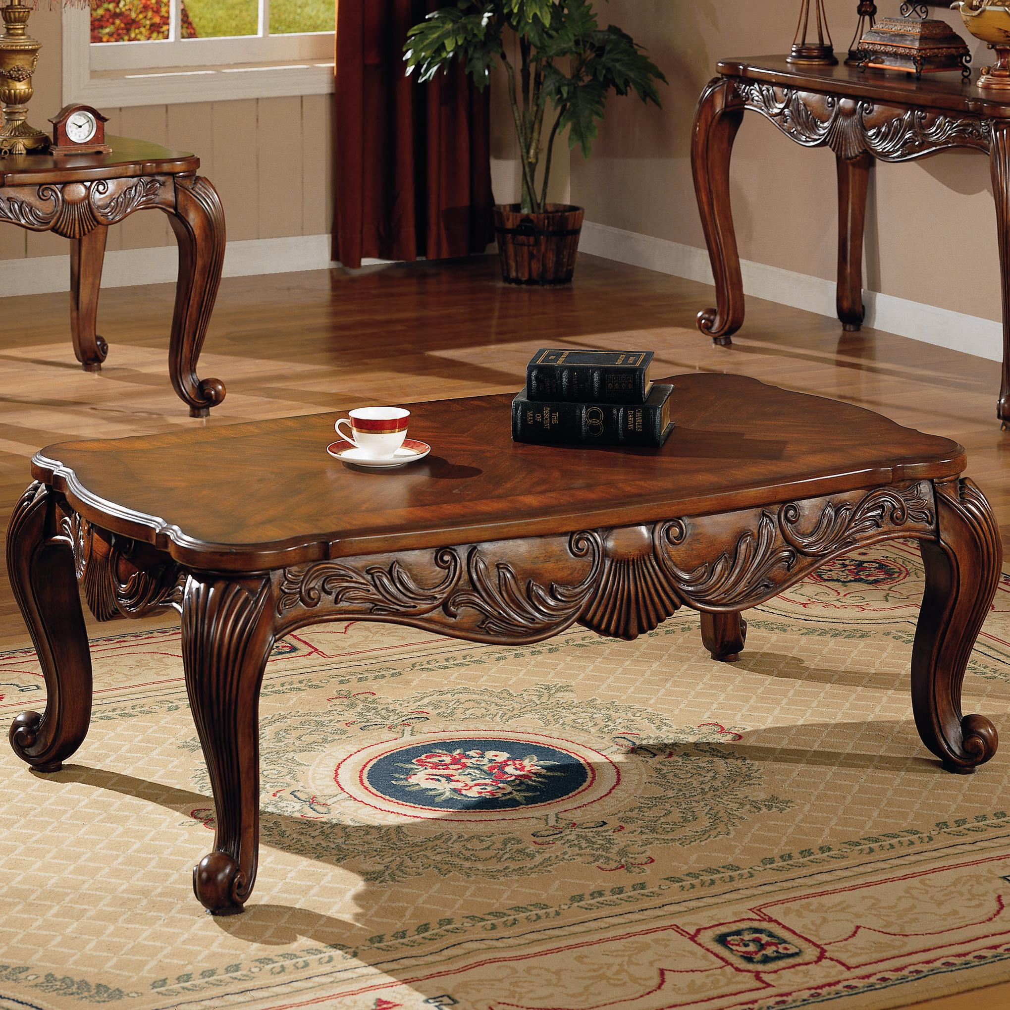 700468 Venice Traditional Rectangular Tail Table