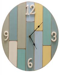 Color block clock - 14