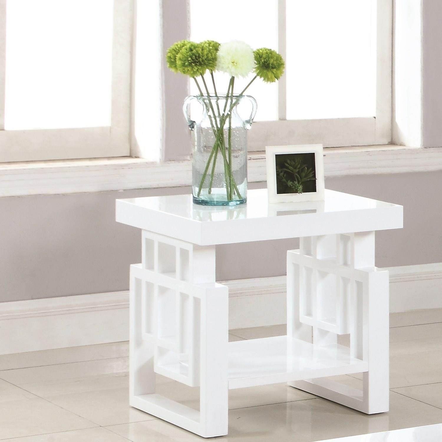705707 rectangular contemporary end table