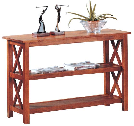 5908 briarcliff casual sofa table with 2 shelves
