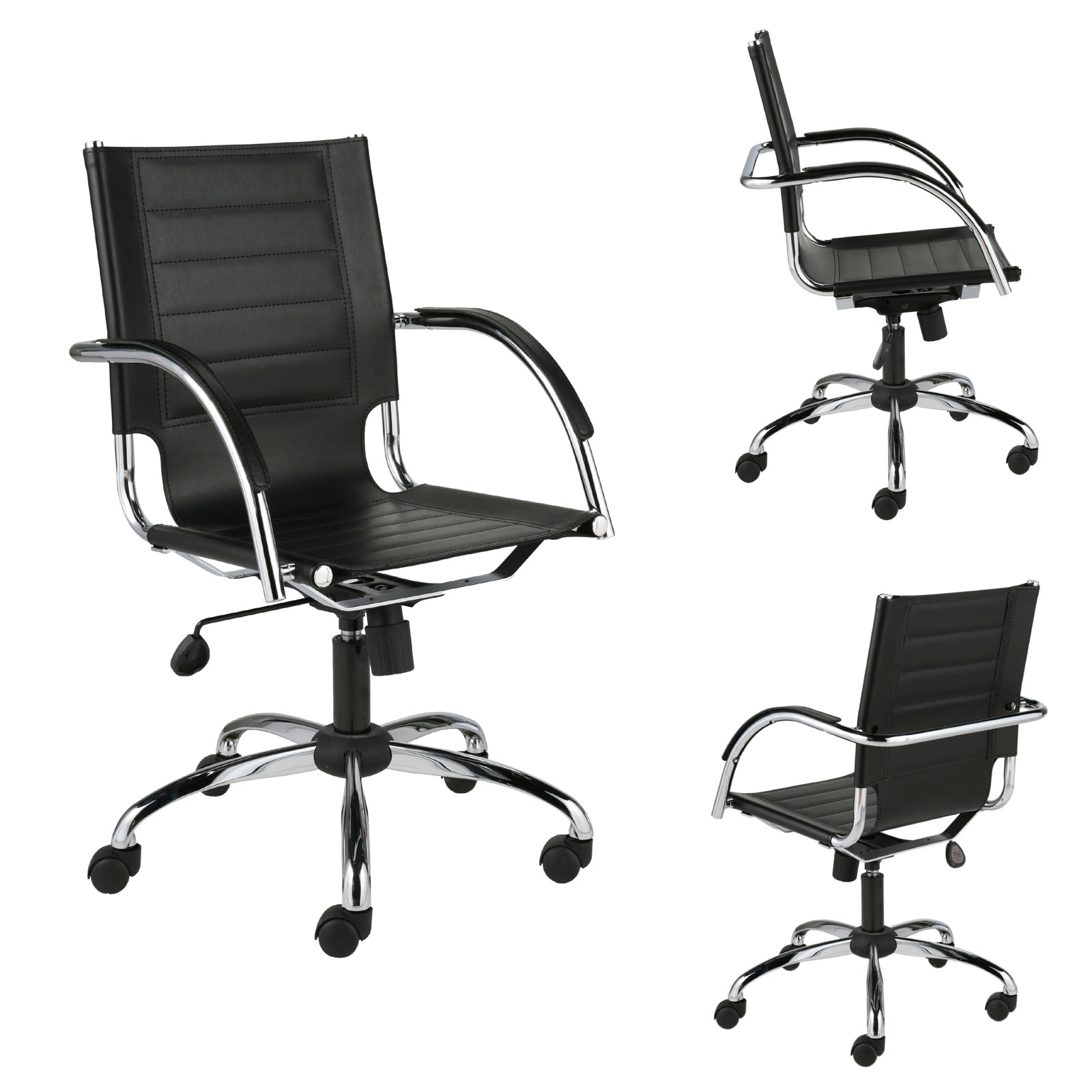 office chair genuine leather white. Office Chair Genuine Leather White /