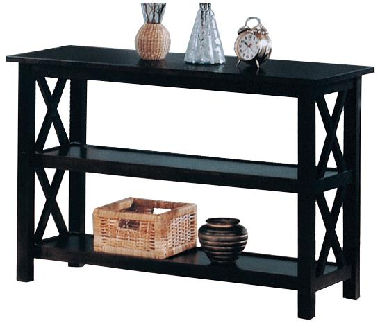 5910 briarcliff casual sofa table with 2 shelves