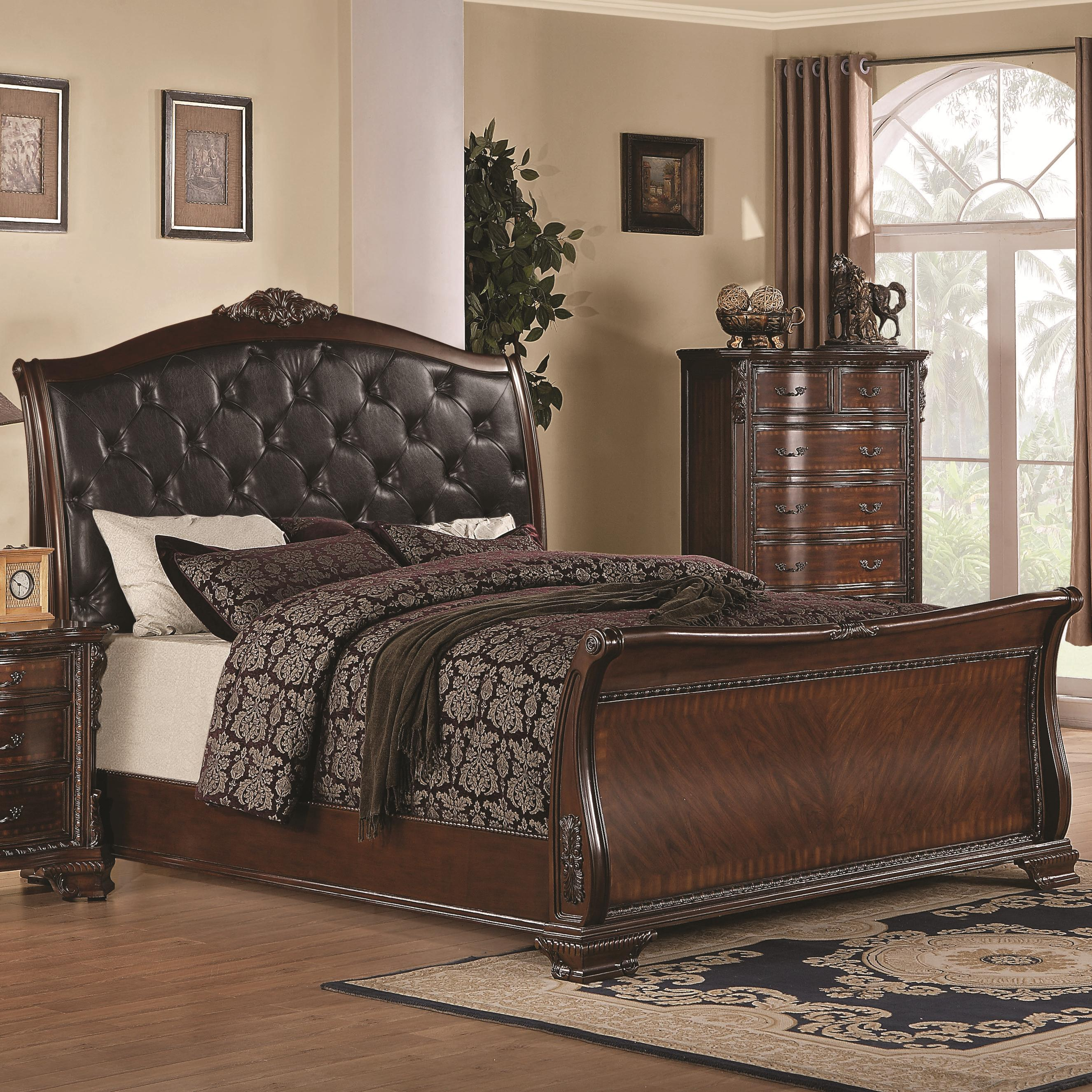 Queen 4 pc set, maddison ( bed, dresser, nightstand, mirror)