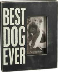 Best dog ever - box frame - 10