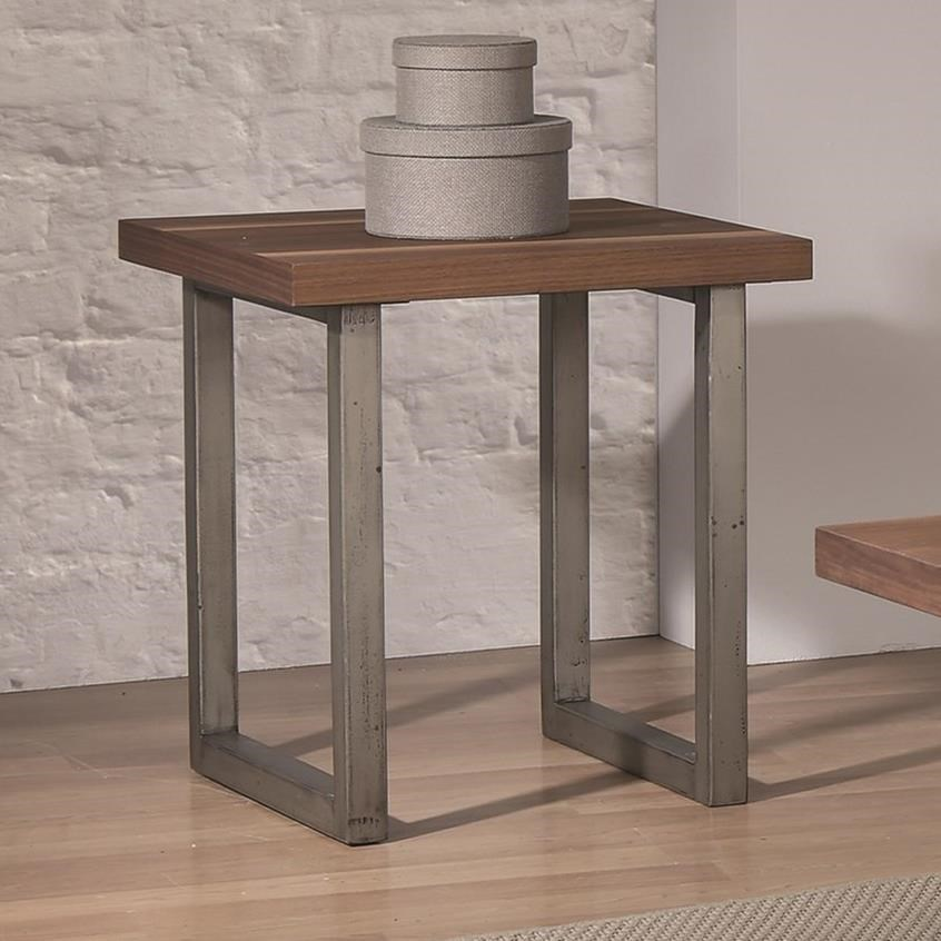 705647 industrial end table