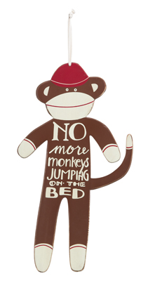 No more monkeys sign