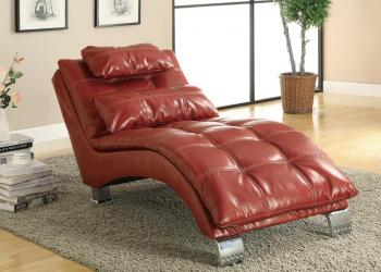 Contemporary living room chaise
