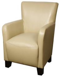 Bryan bonded leather arm chair