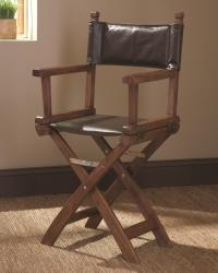 Accent seating director's chair accent chair for movie theater styled family rooms
