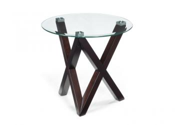Visio round end table