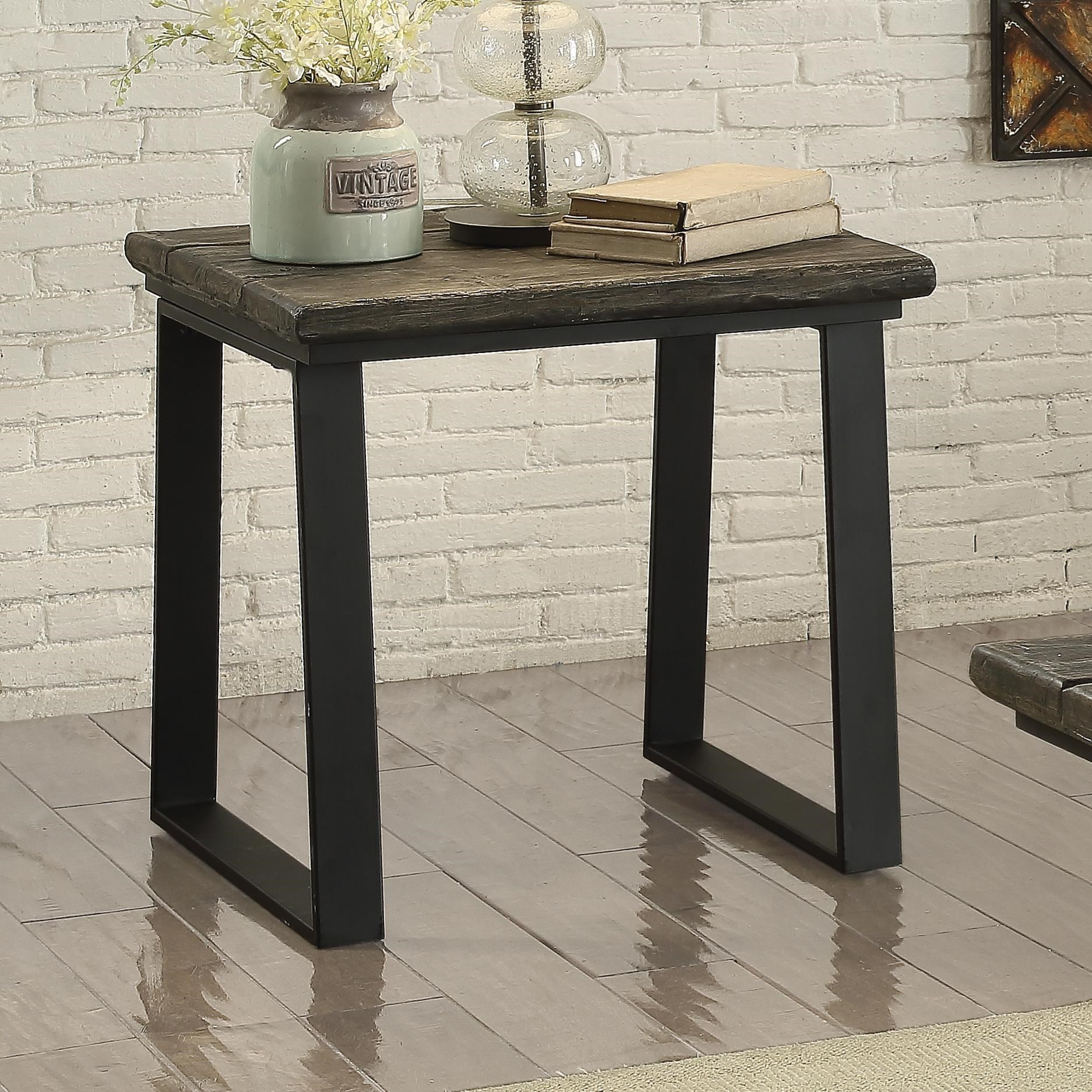 705207 tobiah rustic end table