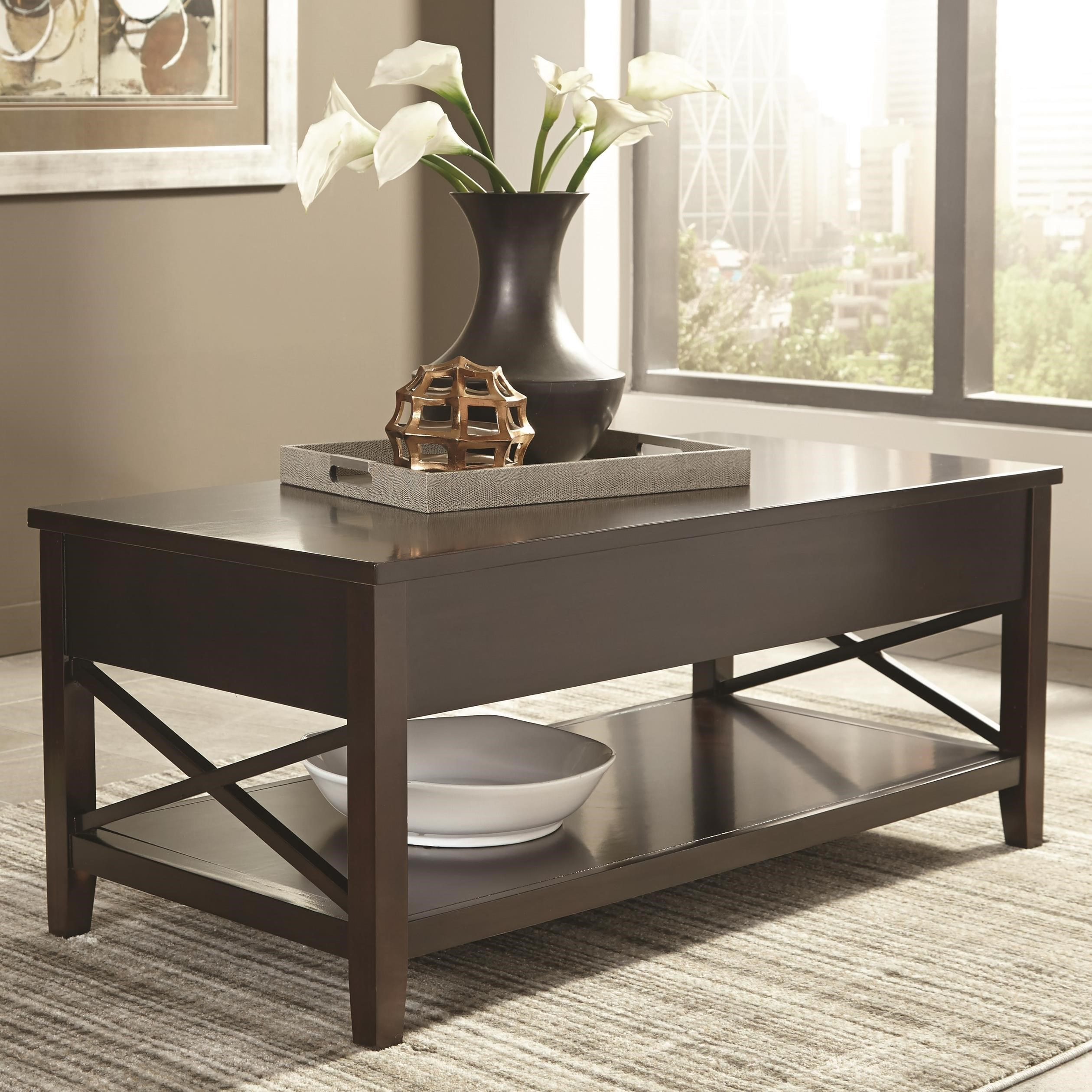 705688 transitional lift top coffee table