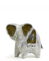 Glass menagerie elephant