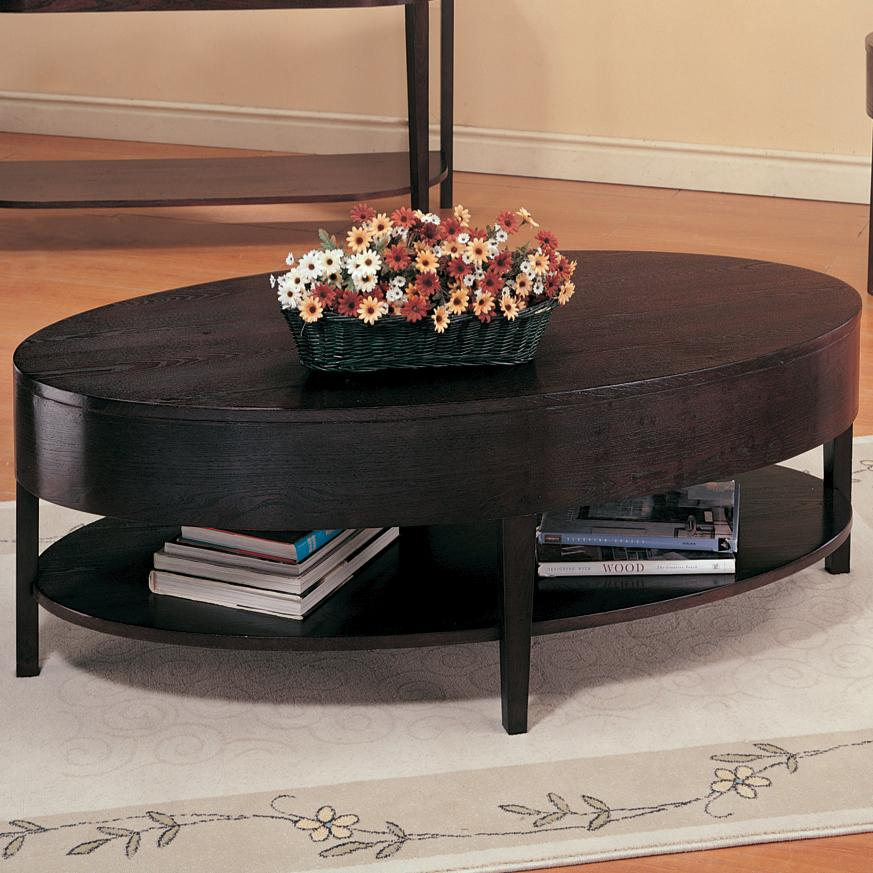 3941 gough oval coffee table with shelf