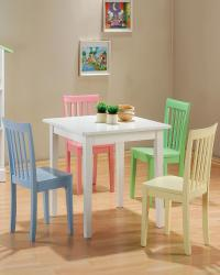 Kinzie 5 piece youth table and chair set