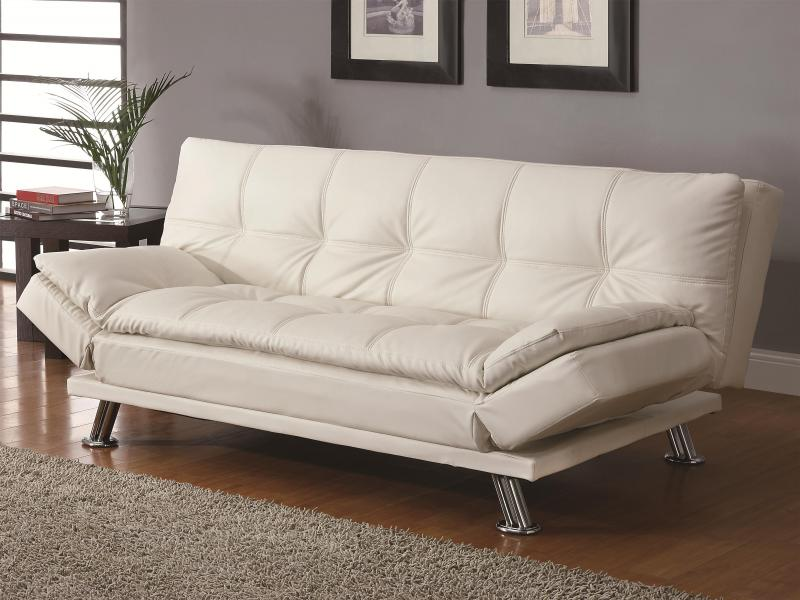 Sofa Beds Contemporary Styled Futon Sleeper Sofa With