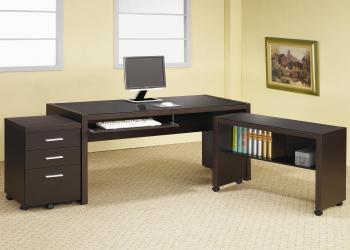 Papineau l shape computer desk with storage