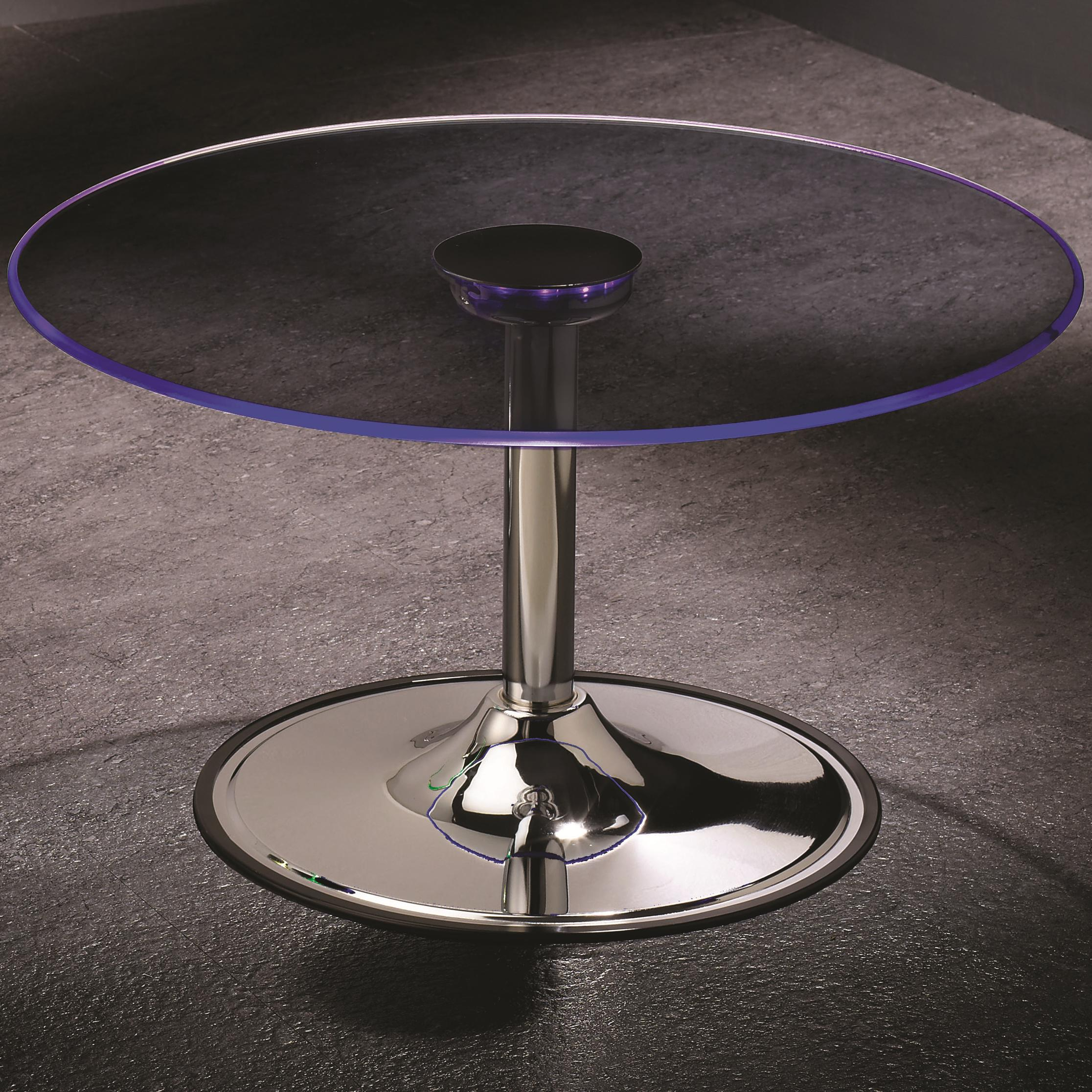 701498 led transitioning led coffee table with chrome base