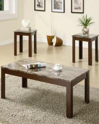 3 piece occasional table sets contemporary cocktail and end table set