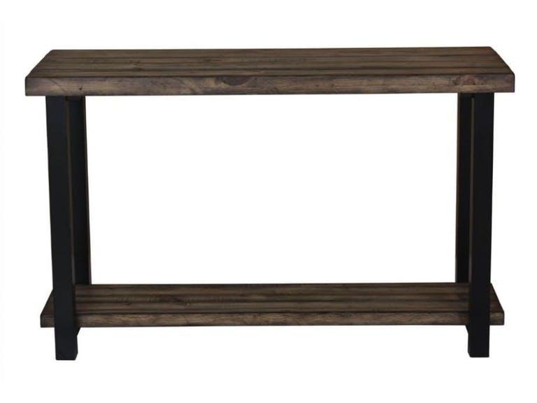 705679 rustic sofa table