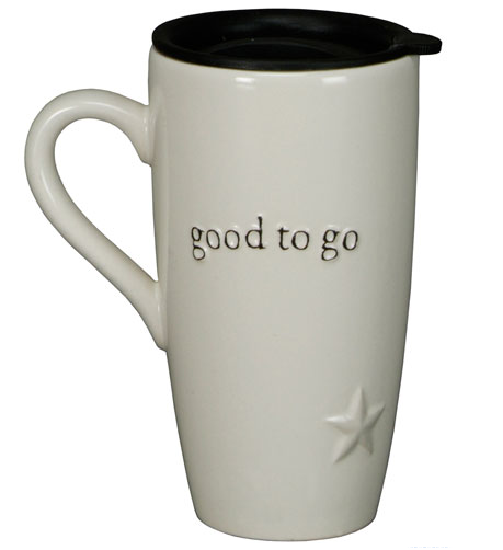 Good to go travel mug - high quality ceramic