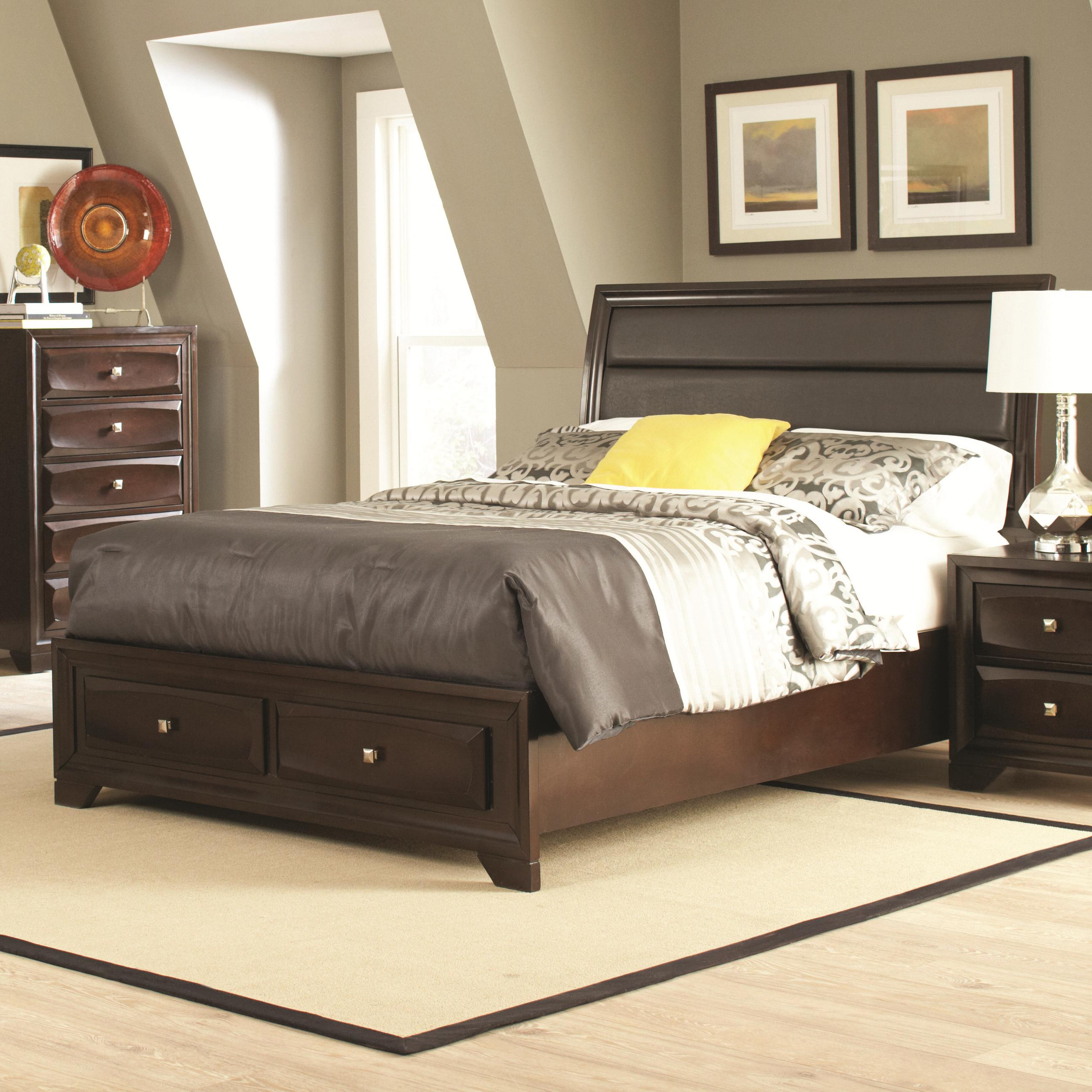 Queen 4 pc set, jaxson (bed, dresser, nightstand, mirror)