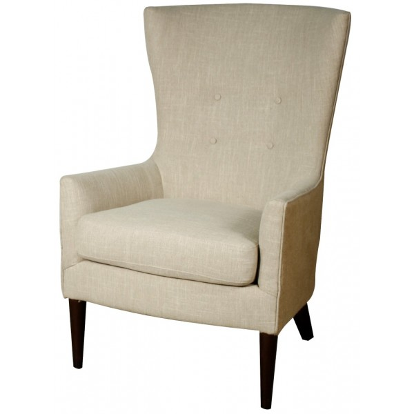 Tristan fabric arm chair