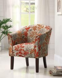 Autumn leaves chair