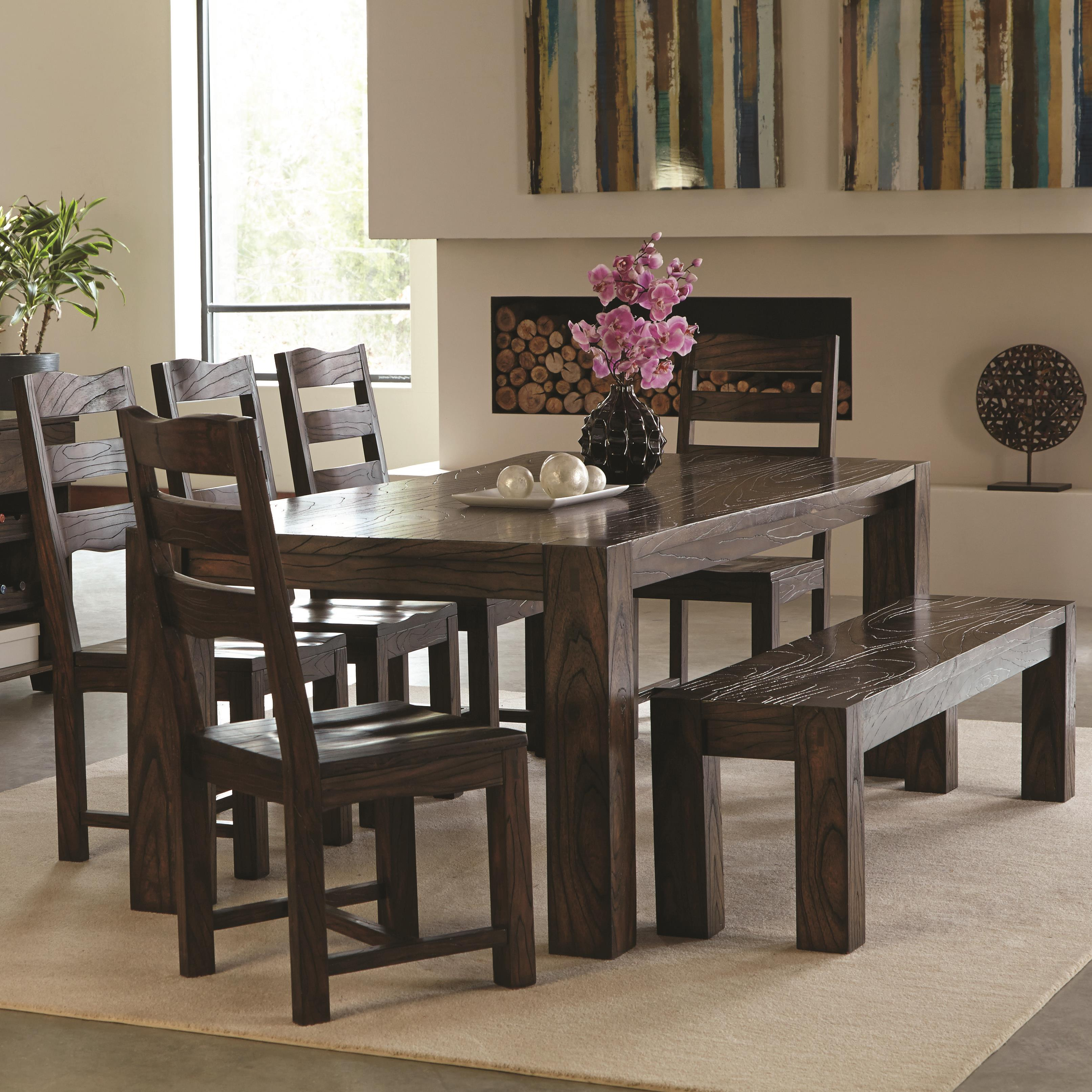 Baxton studio leeds brown wood collapsible pub table set | Bana Home ...