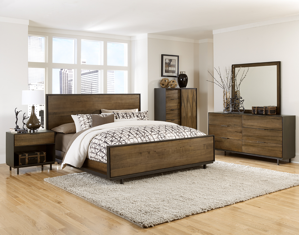 Danica bed room set (queen bed/chest/night stand)