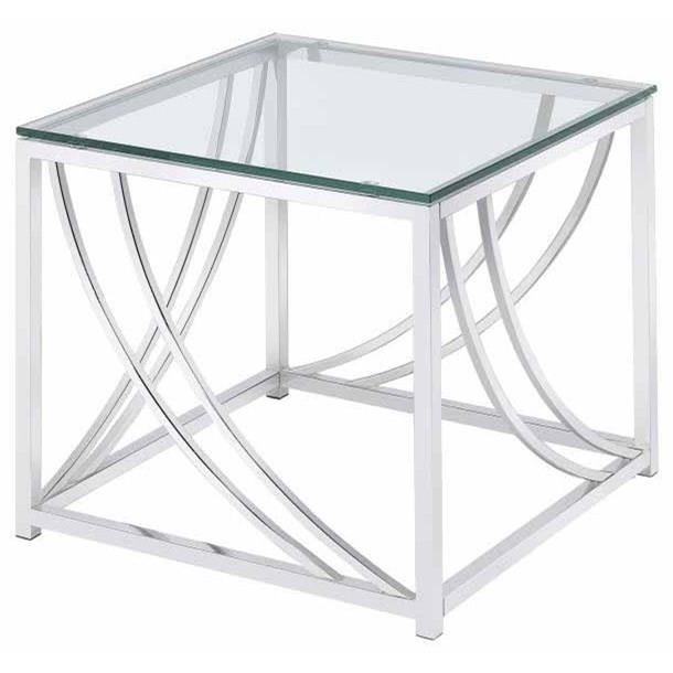 720497, modern, glass, top, end table