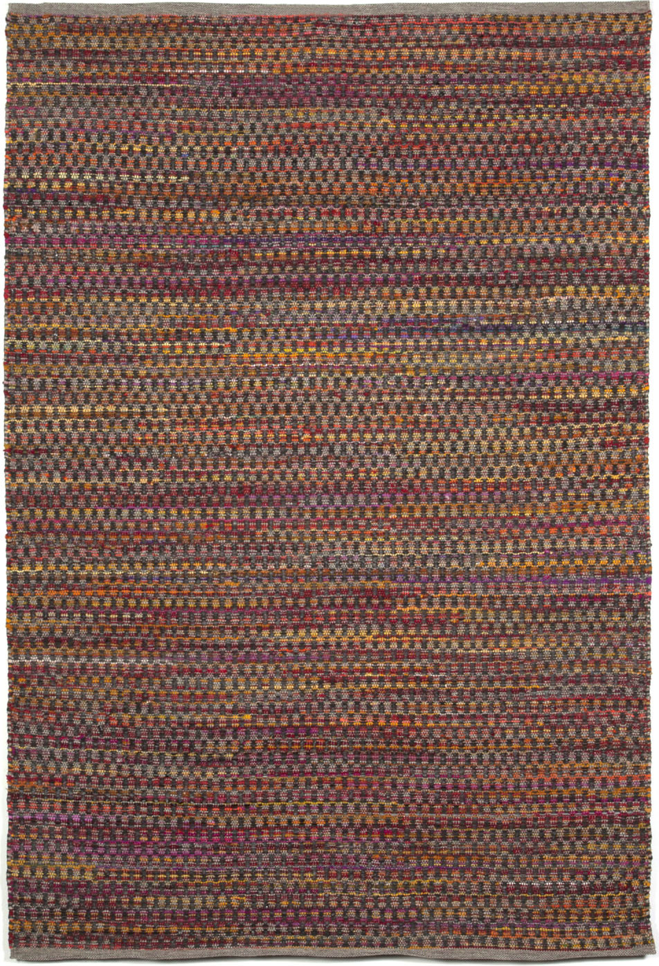 Taos meadows red hand woven 5'x7'6