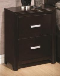 Andreas casual two drawer night stand
