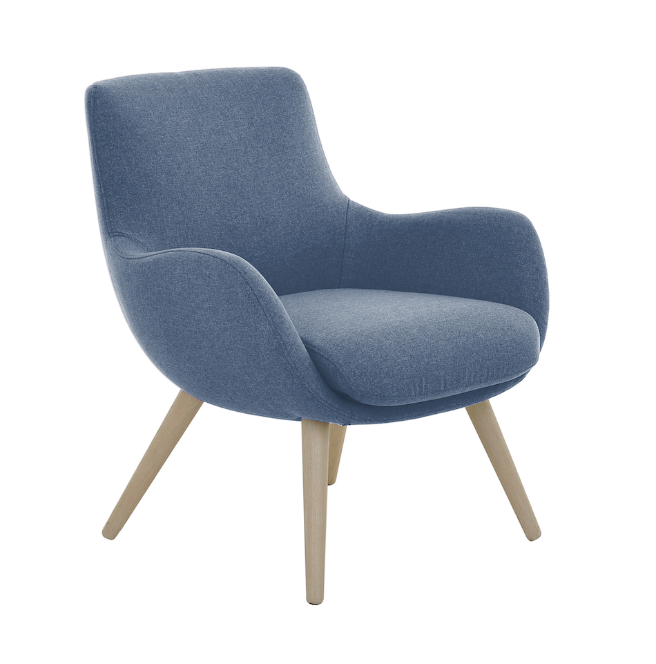 Fjords skagen chairs low back wood legs