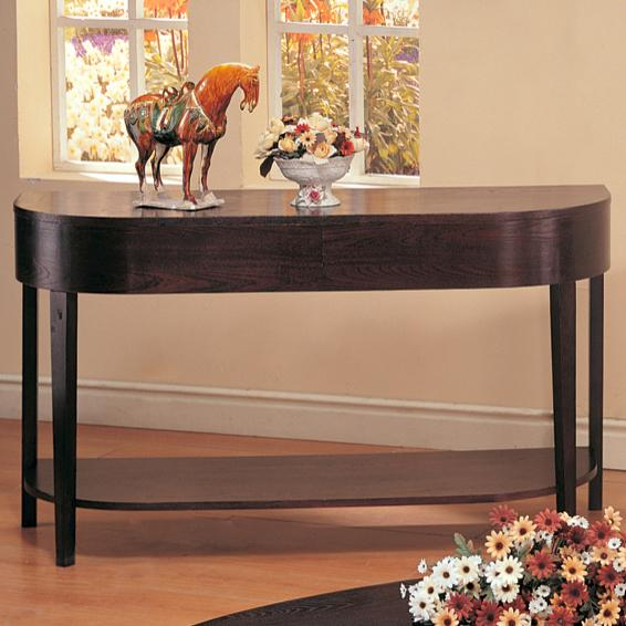 3942 gough sofa table with shelf
