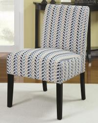 Accent chair with contemporary furniture style